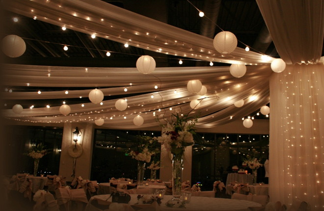 wedding ceiling lighting